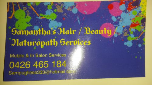 Mobile Halir & Beauty by Samantha