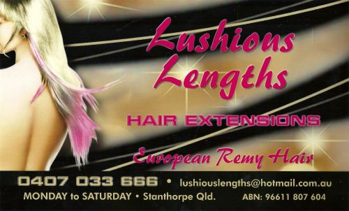 Lushious Lengths Hair Extensions - Hairdresser Find