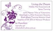 Living the Dream - Mobile Hair Extensions amp Spray Tan - Hairdresser Find