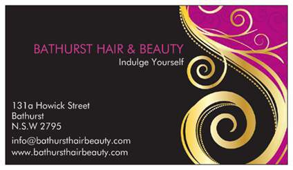 Bathurst Hair amp Beauty - Hairdresser Find