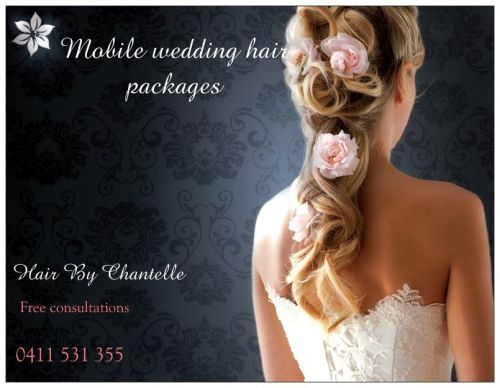 Wedding Hair By Chantelle.