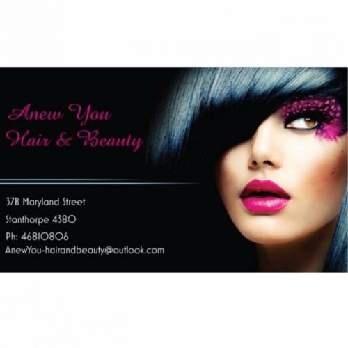 Anew You Hair amp Beauty - Hairdresser Find